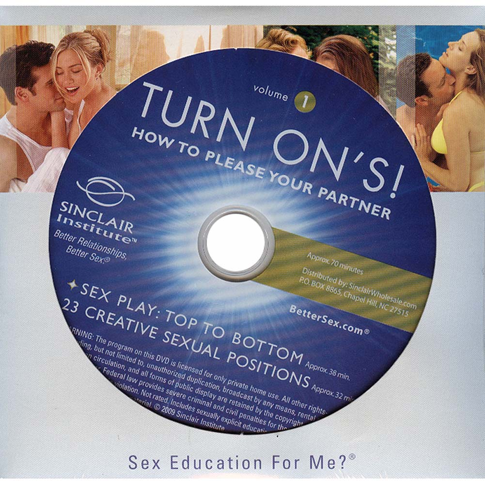 Turn Ons Vol. 1 How to Please Your Partner DVD - View #3