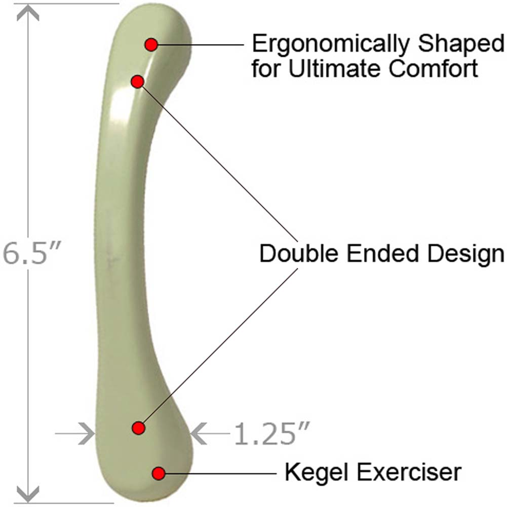"Natural Contours Energie Kegel Exerciser 6.5"" Olive - View #1"
