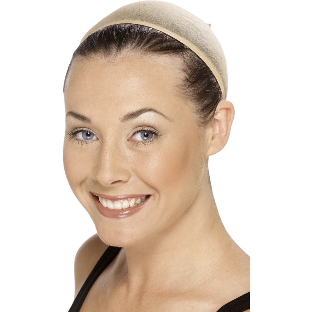 Smiffys Wig Cap Costume Accessory One Size Nude - View #2