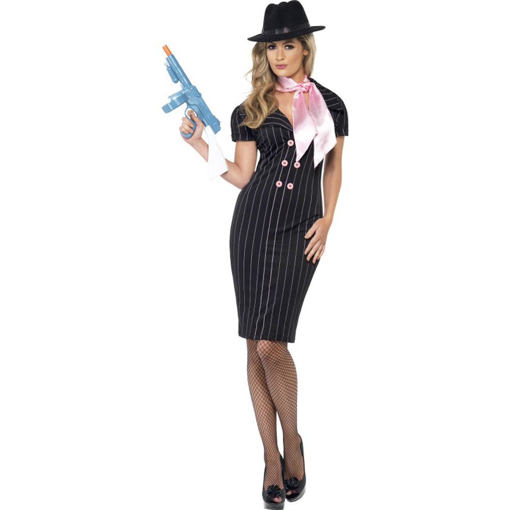 GangsterS Moll Costume Large - View #1