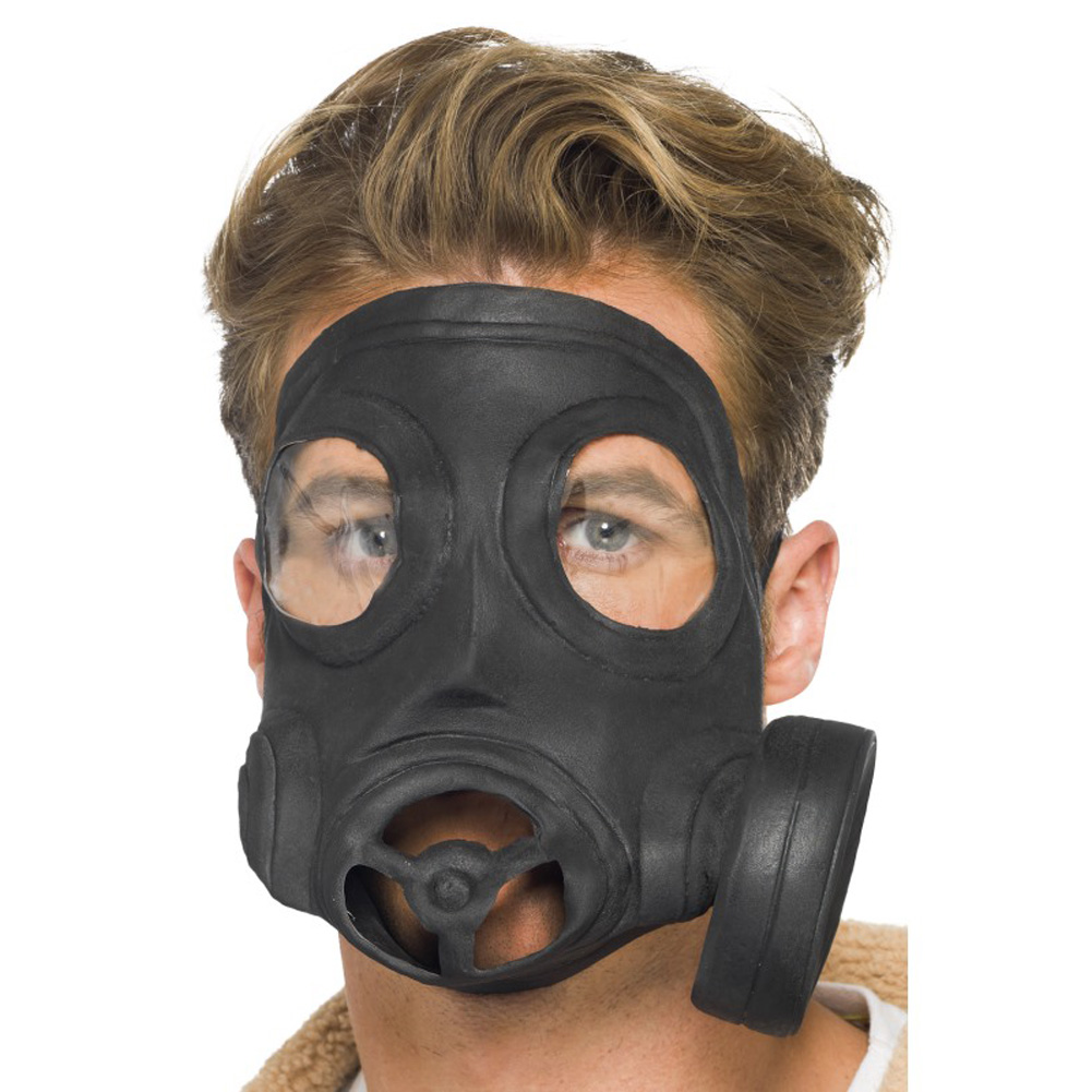 Gas Mask Latex - View #1
