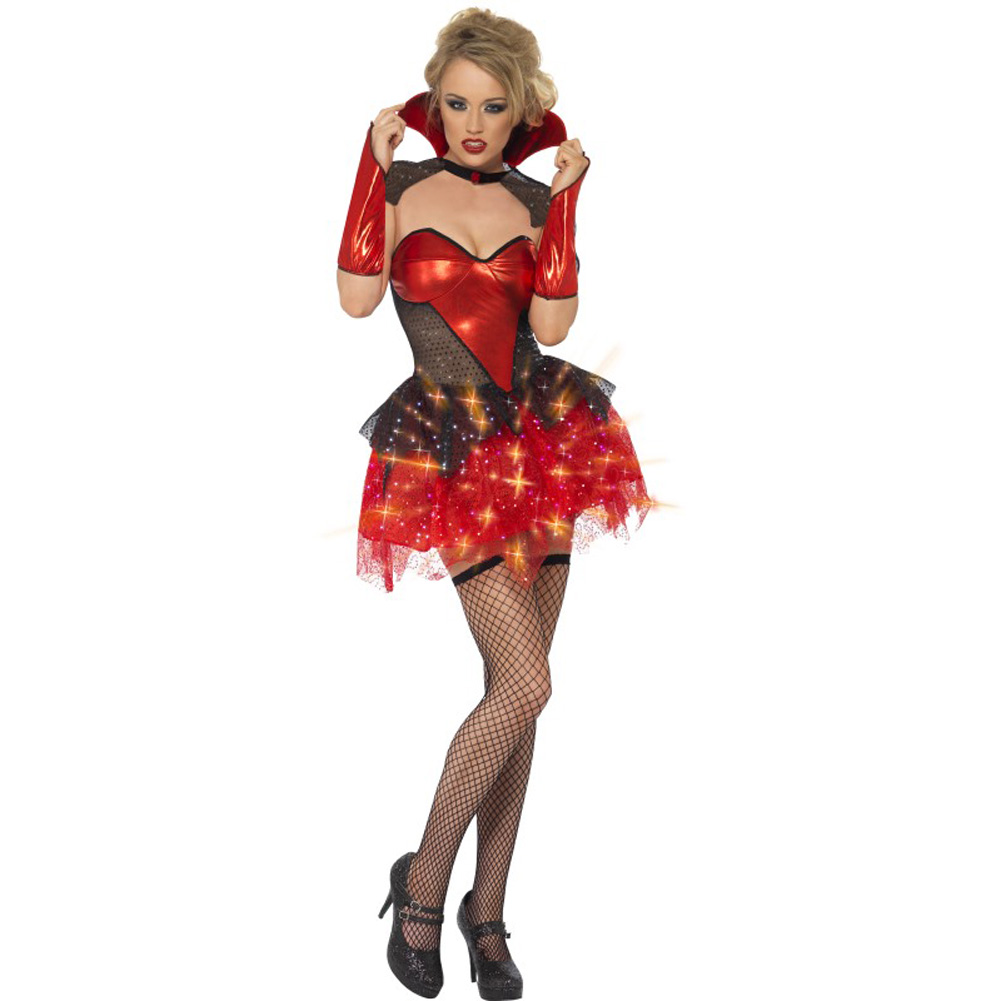 All That Glitters Vamp Gloss Costume Small - View #1