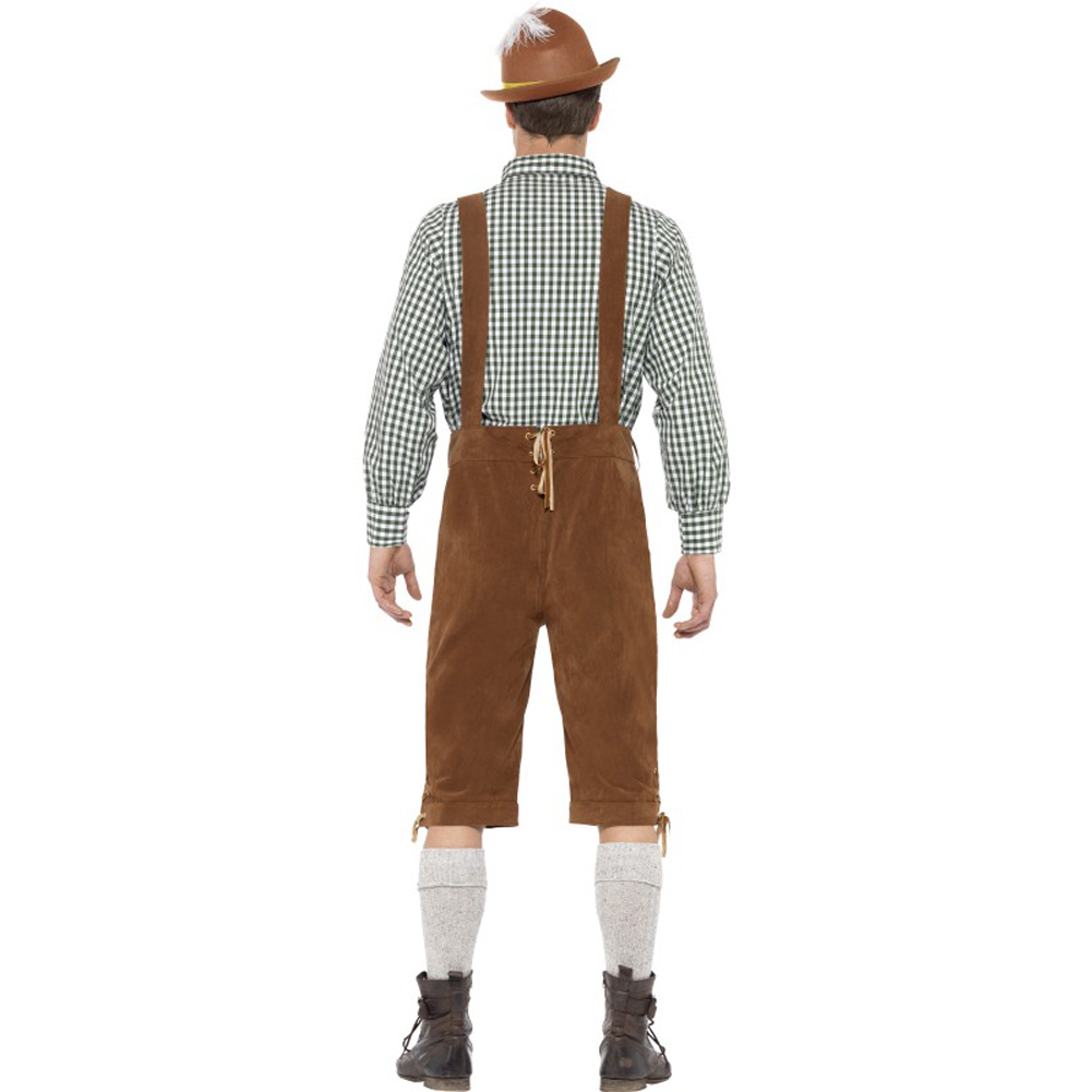 Traditional Deluxe Hanz Bavarian Costume Large - View #3