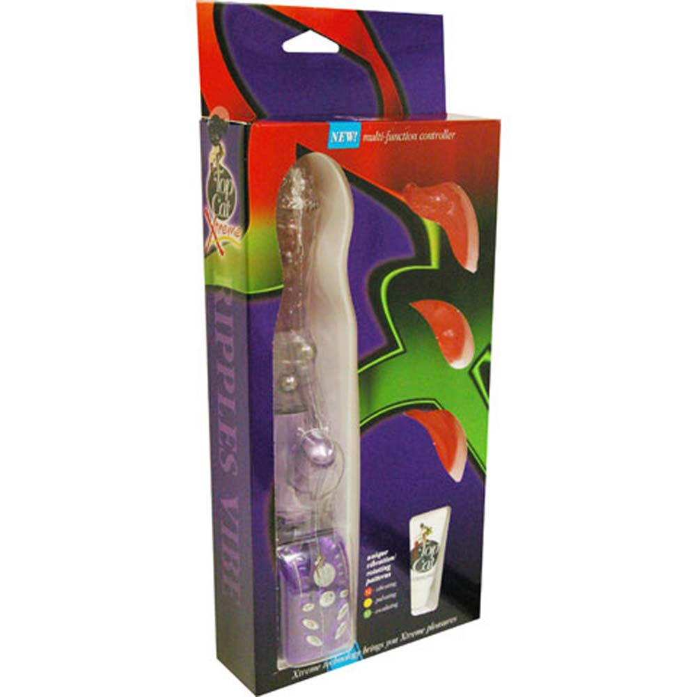 Xtreme Pleasure Vibe with 3 Interchangeable Sleeves Purple - View #4