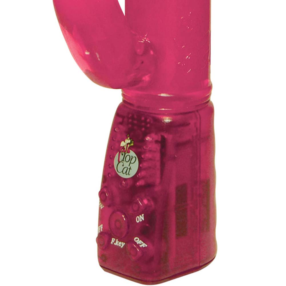 "Xtreme Rabbit Pearl Female Vibrator 9.5"" Sensual Pink - View #3"