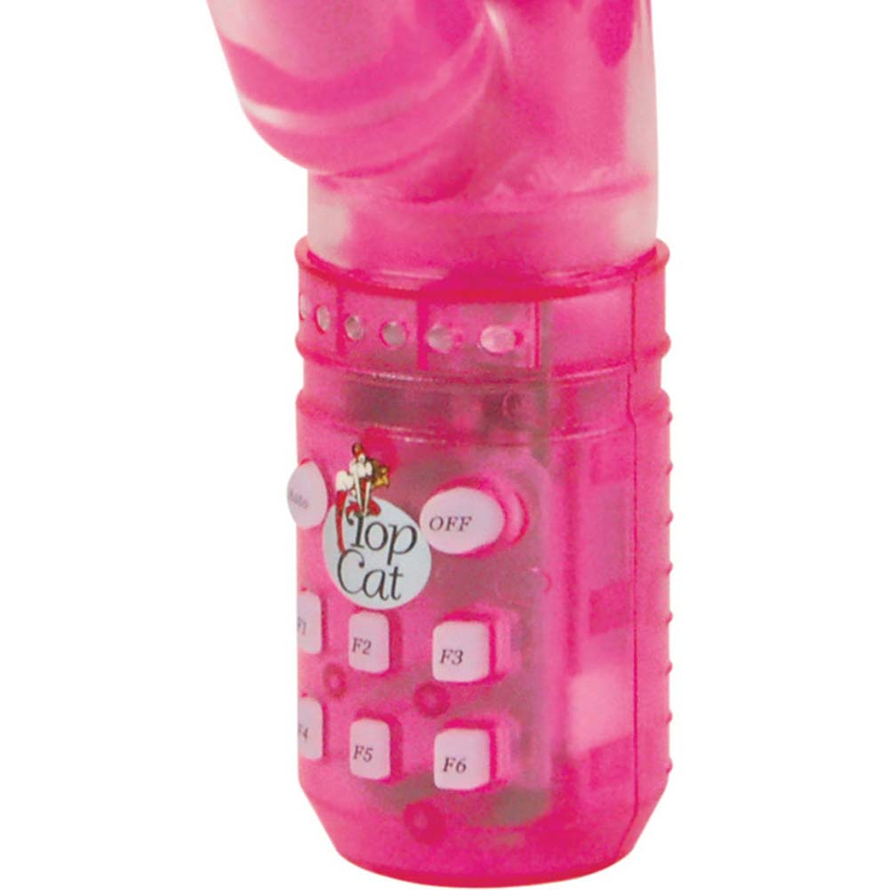 """Ultimate Power Rabbit Personal Vibrator 9"""" Hot Pink - View #3"""