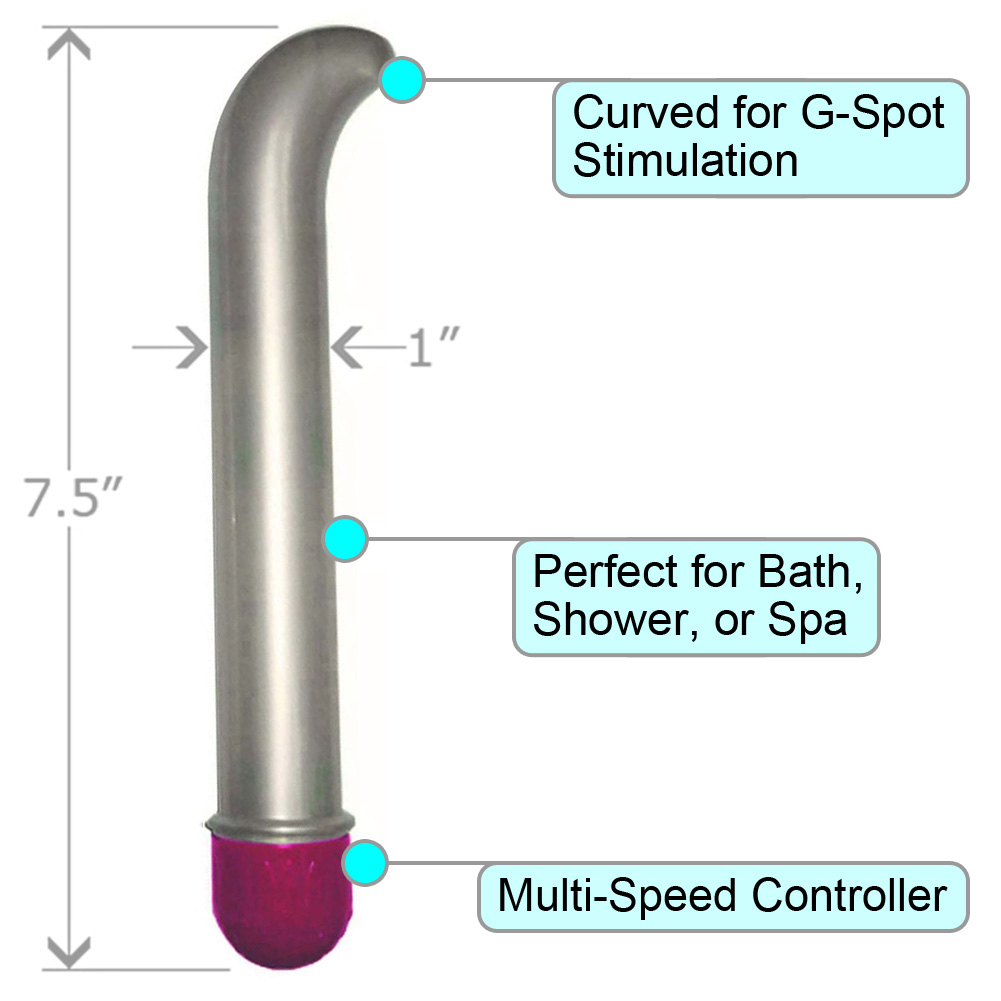 "Multispeed G-Spot Vibe 7.5"" ASSORTED COLORS - View #1"