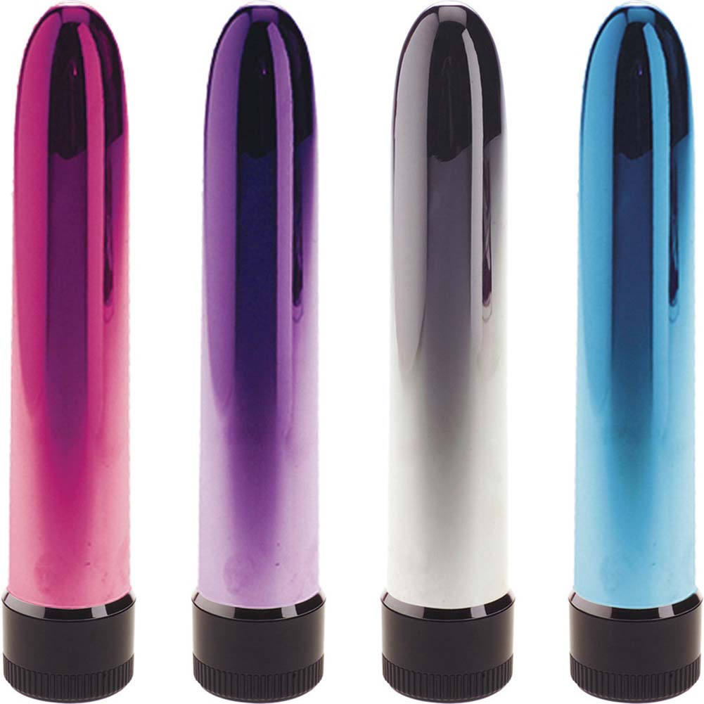 "OptiSex Stealth Intimate Vibrator for Men and Women 7.5"" Assorted Colors - View #2"