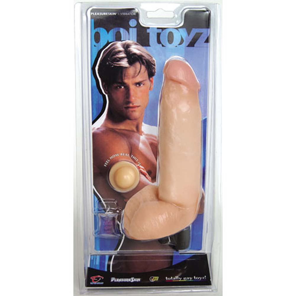 Good Vibes Waterproof PleasureSkin Cock 8 In. - View #1
