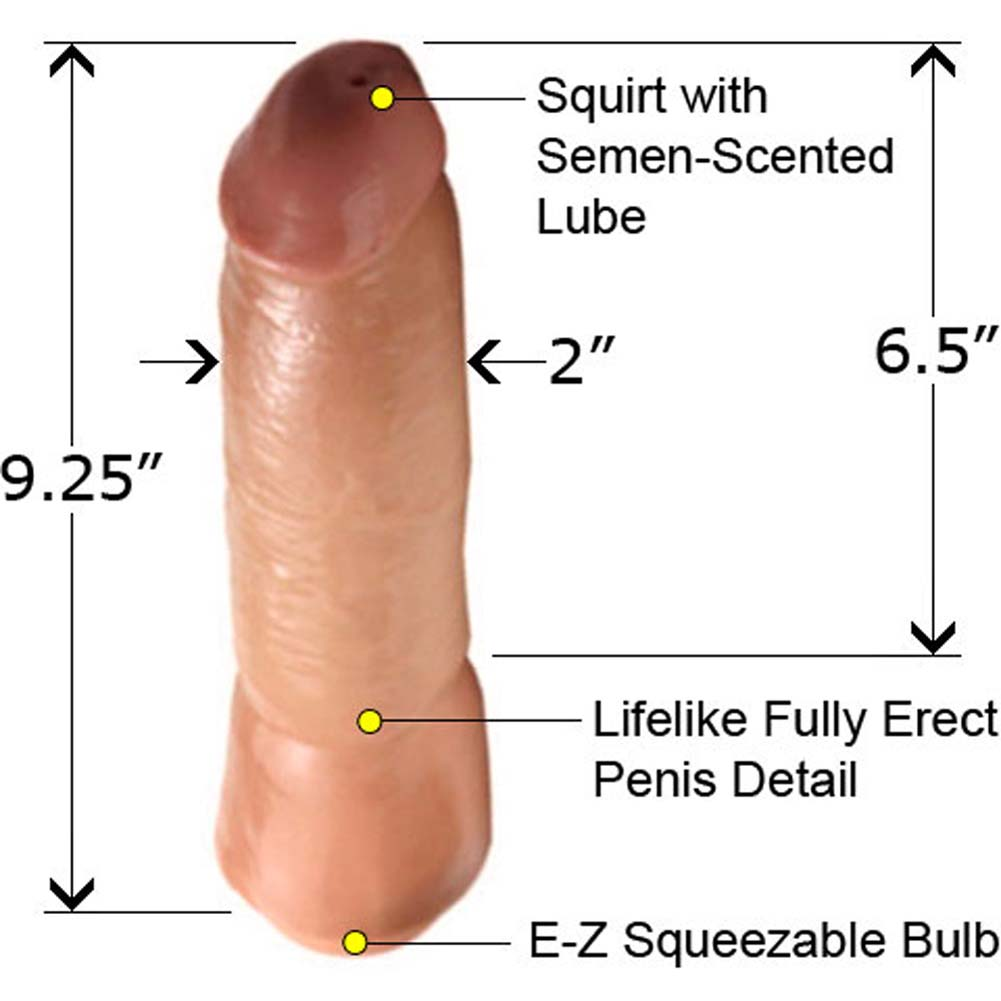 Boi Toyz SensaFirm Squirter Dong 9.25 In. - View #2