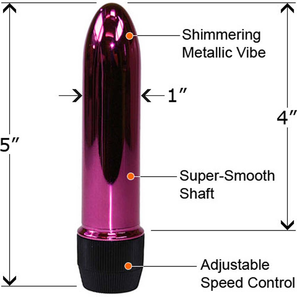 "Violet Vixen Collection Kit with Metallic Vibe 5"" Purple - View #2"