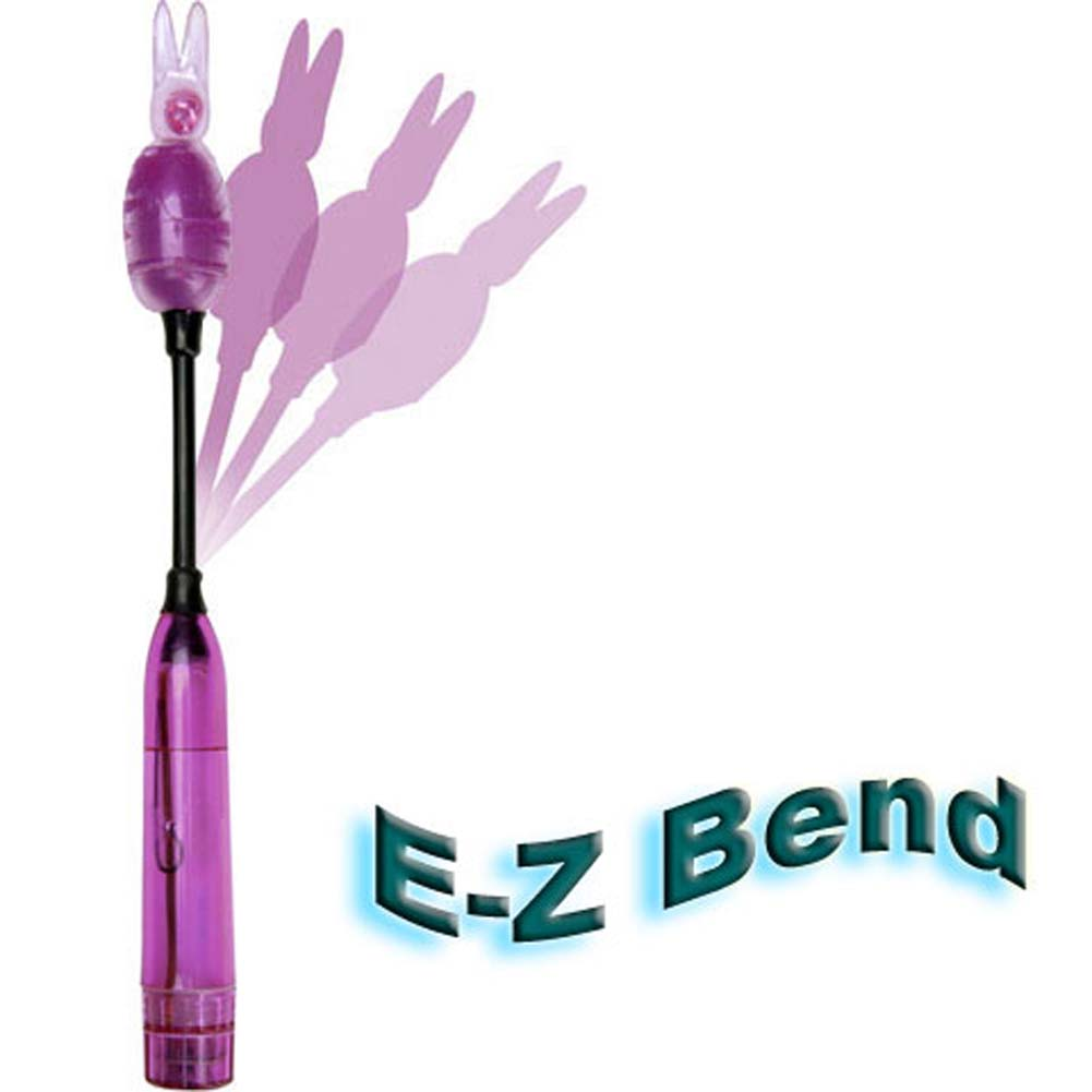 Climax Waterproof Vibrating Bunny Bullet Wand Lavender - View #2