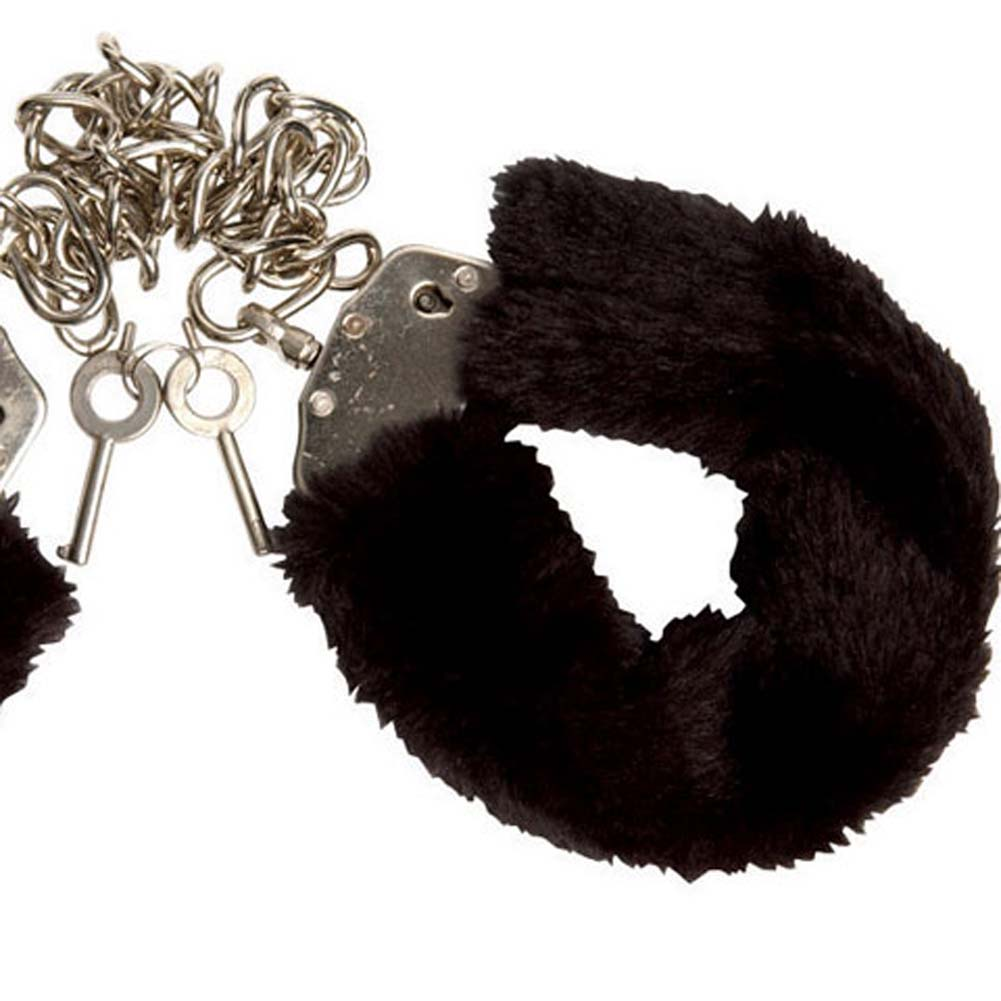 Captivity Cuffs by Penthouse Variations Bondage Black Fur - View #3