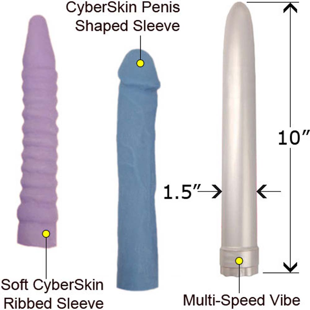 Penthouse Pure Sex Collection CyberSkin Vibe Kit - View #2