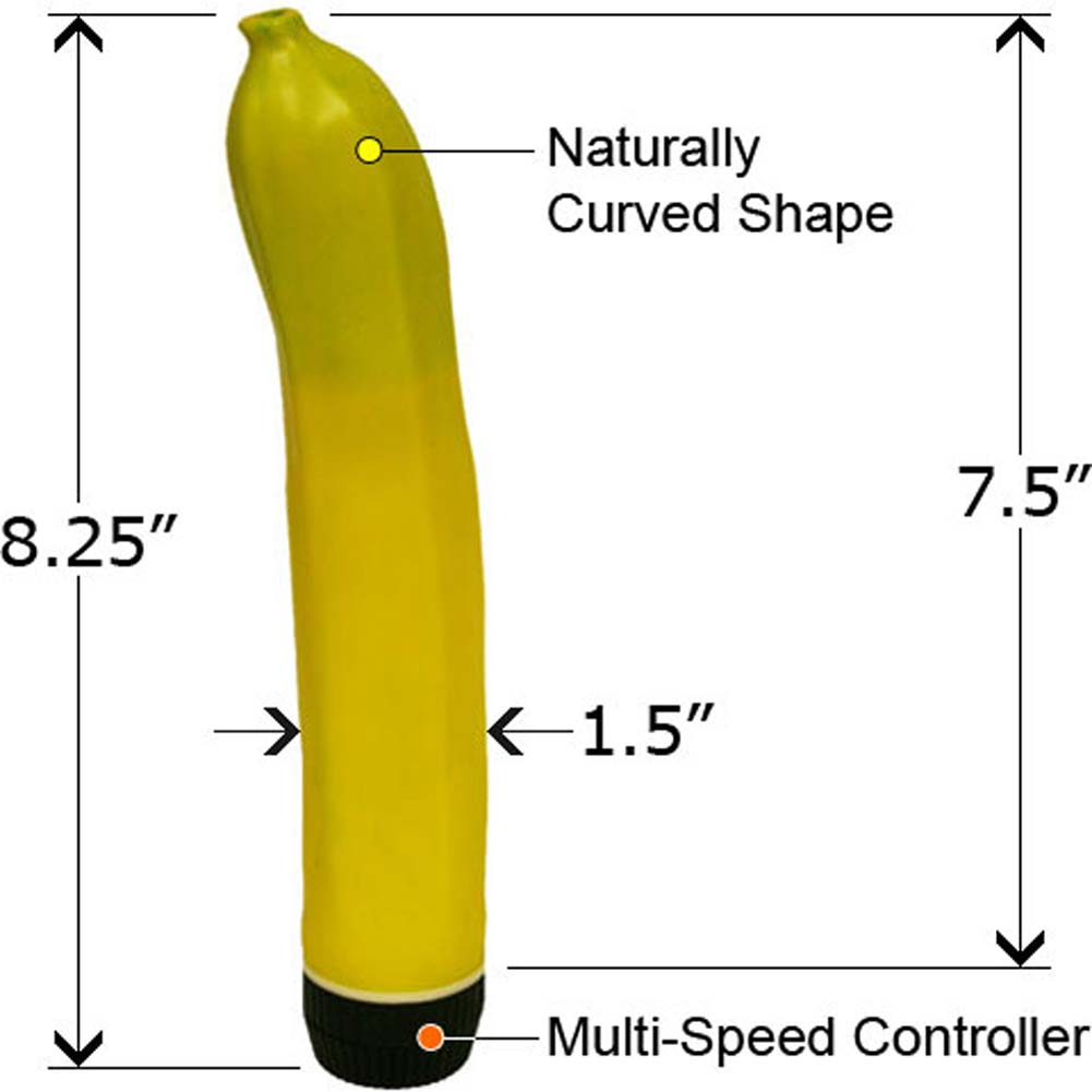 "Vibrating Banana 8.25"" - View #1"