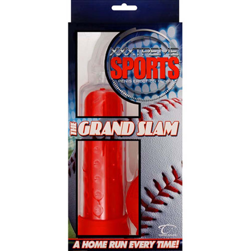 XXXTreme Sports Grand Slam Penis Pump Red - View #3