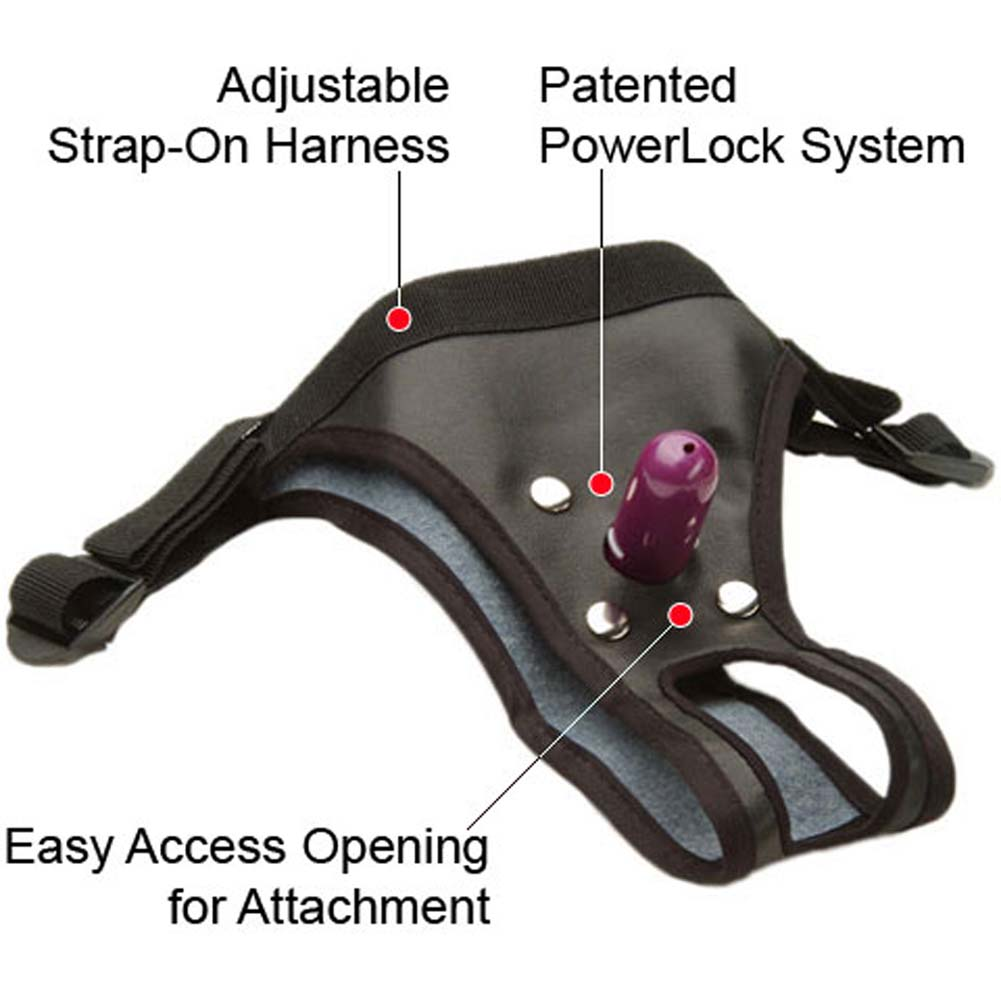 PowerLock Snap-On Strap-On Harness with PowerLock Plug - View #1