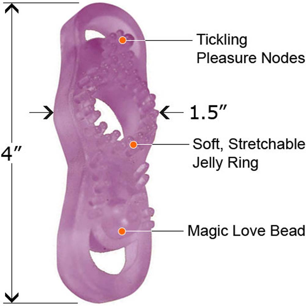 Wild Sex Cock N Balls Reversible Erection Maker Ring Nubby - View #1