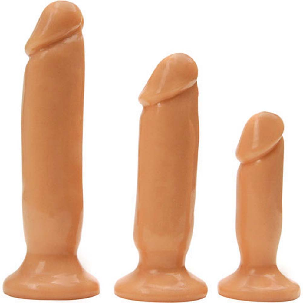 Rascal Toys Initiation Kit with 3 Anal Plugs Natural - View #3