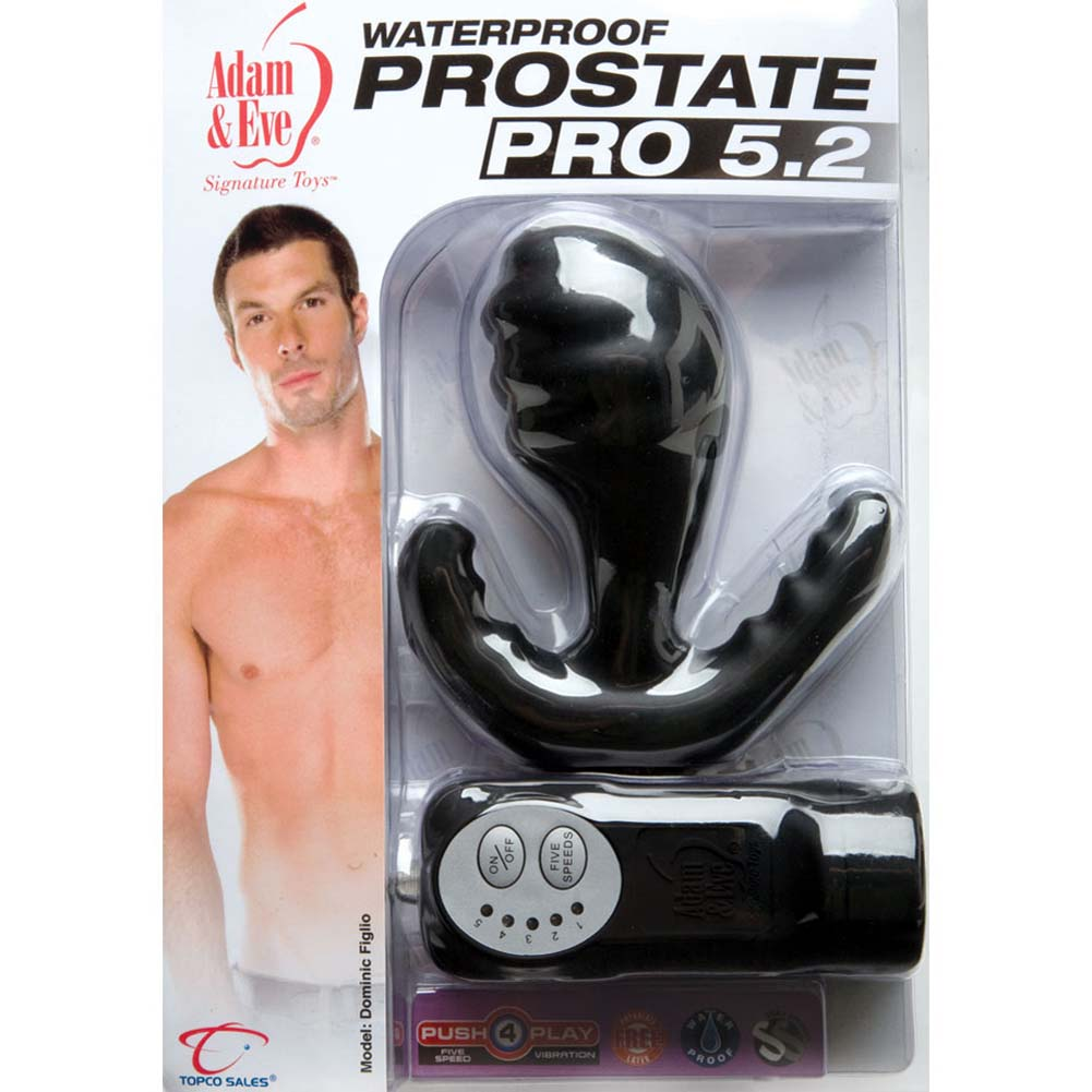 Adam and Eve Waterproof Prostate Pro Vibrating Butt Plug - View #3