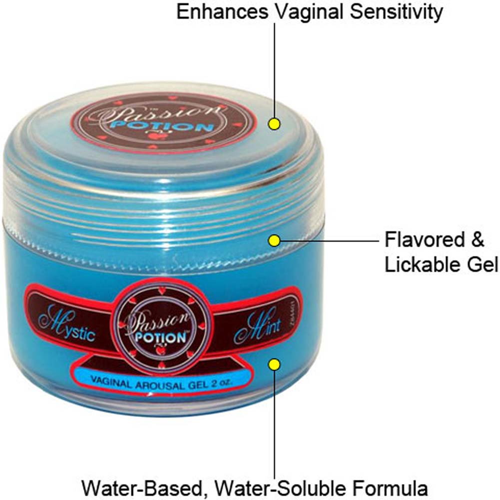 Passion Potion Vaginal Arousal Gel Mystic Mint 2 Fl Oz - View #1