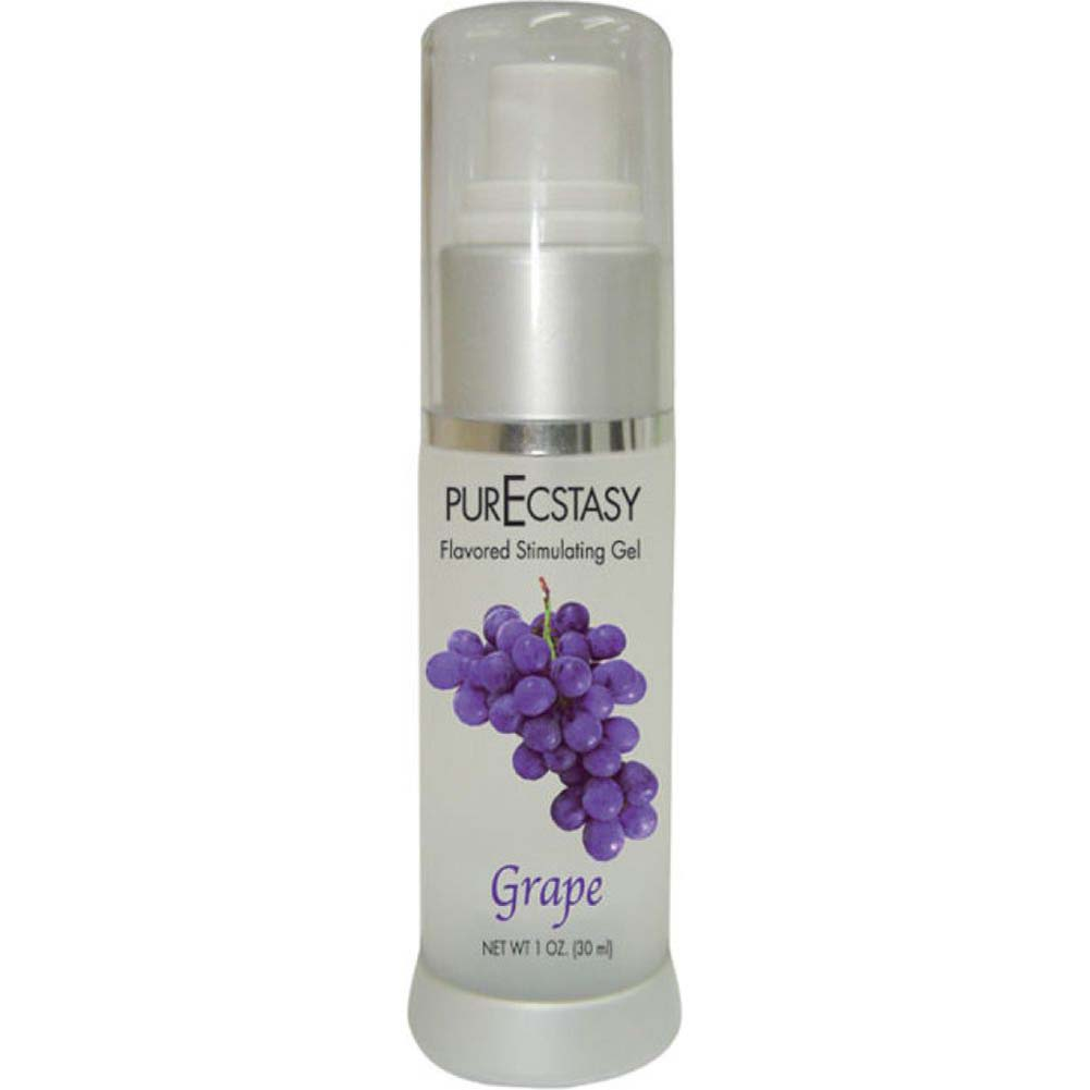 Body Action PurEcstasy Flavored Stimulating Gel 1 Fl. Oz. 30 mL Grape - View #1