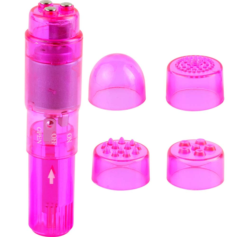 "Mini Mite Personal Waterproof Vibrator 4"" Pink - View #2"