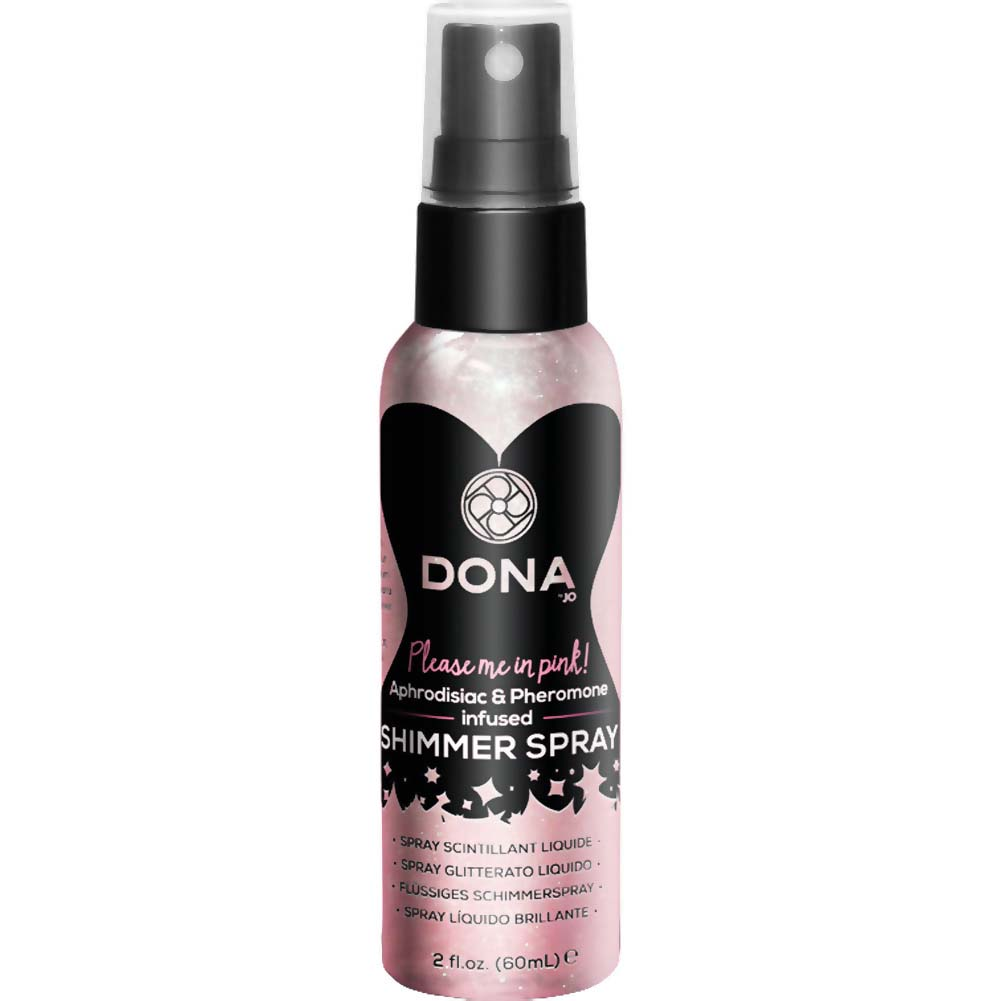 DONA Shimmer Spray 2 Fl.Oz Blushing Berry Pink - View #1