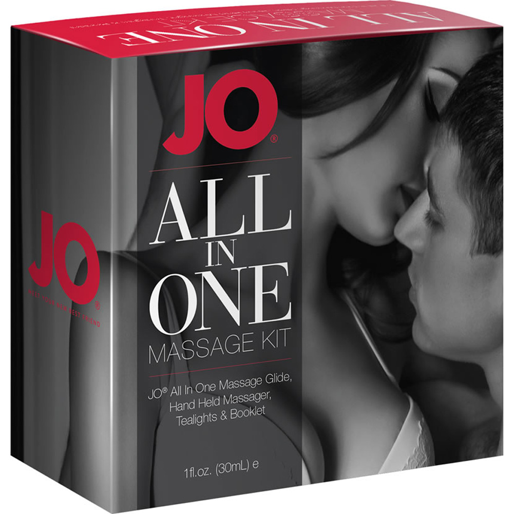System JO All In One Massage Gift Set for Couples - View #1