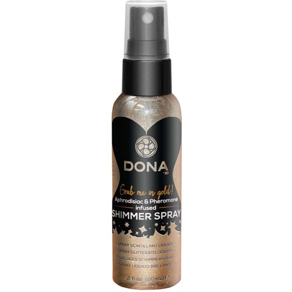 DONA Shimmer Spray 2 Fl.Oz Sinful Spring Gold - View #1