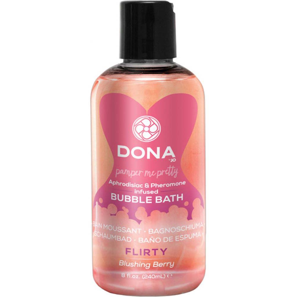 DONA Pheromone Infused Bubble Bath 8 Fl.Oz 240 mL Flirty Blushing Berry - View #1