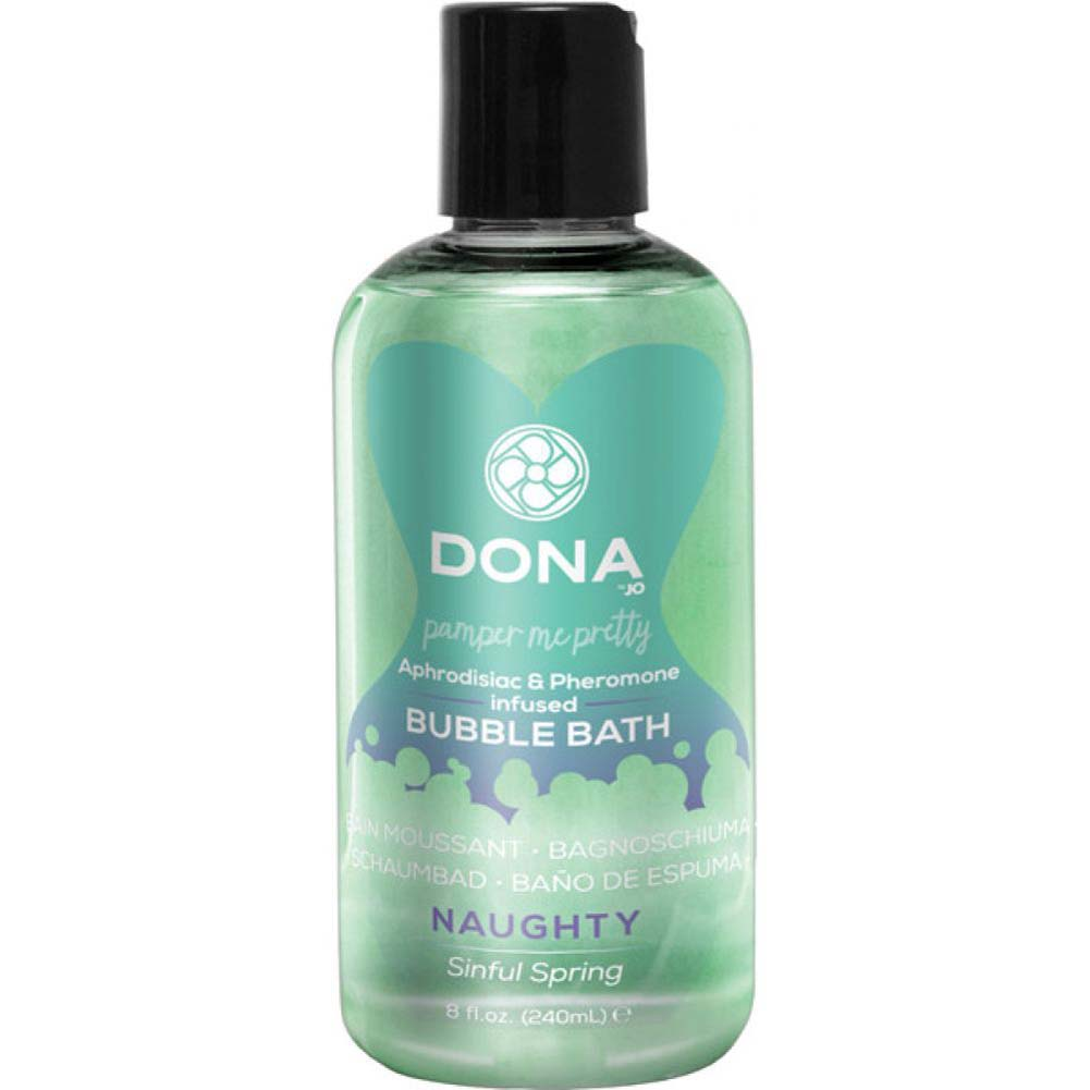 DONA Pheromone Infused Bubble Bath 8 Fl.Oz 240 mL Naughty Sinful Spring - View #1