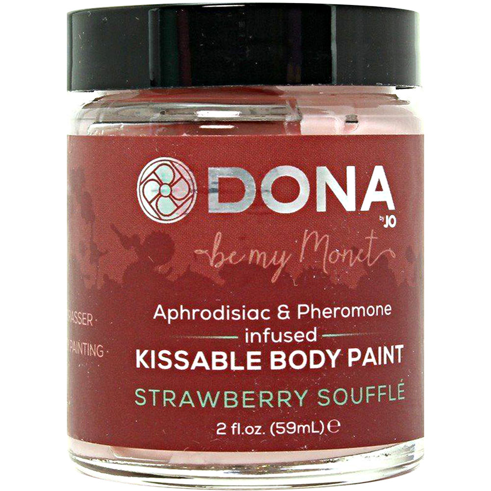 Dona Kissable Body Paint - Strawberry Souffle - 2 Oz. - View #2