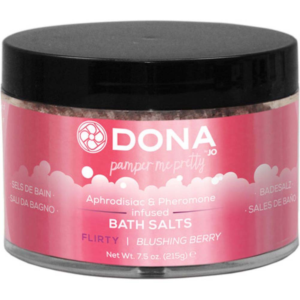 Dona Bath Salt Flirty Aroma - Blushing Berry - 7.5 Oz. - View #1