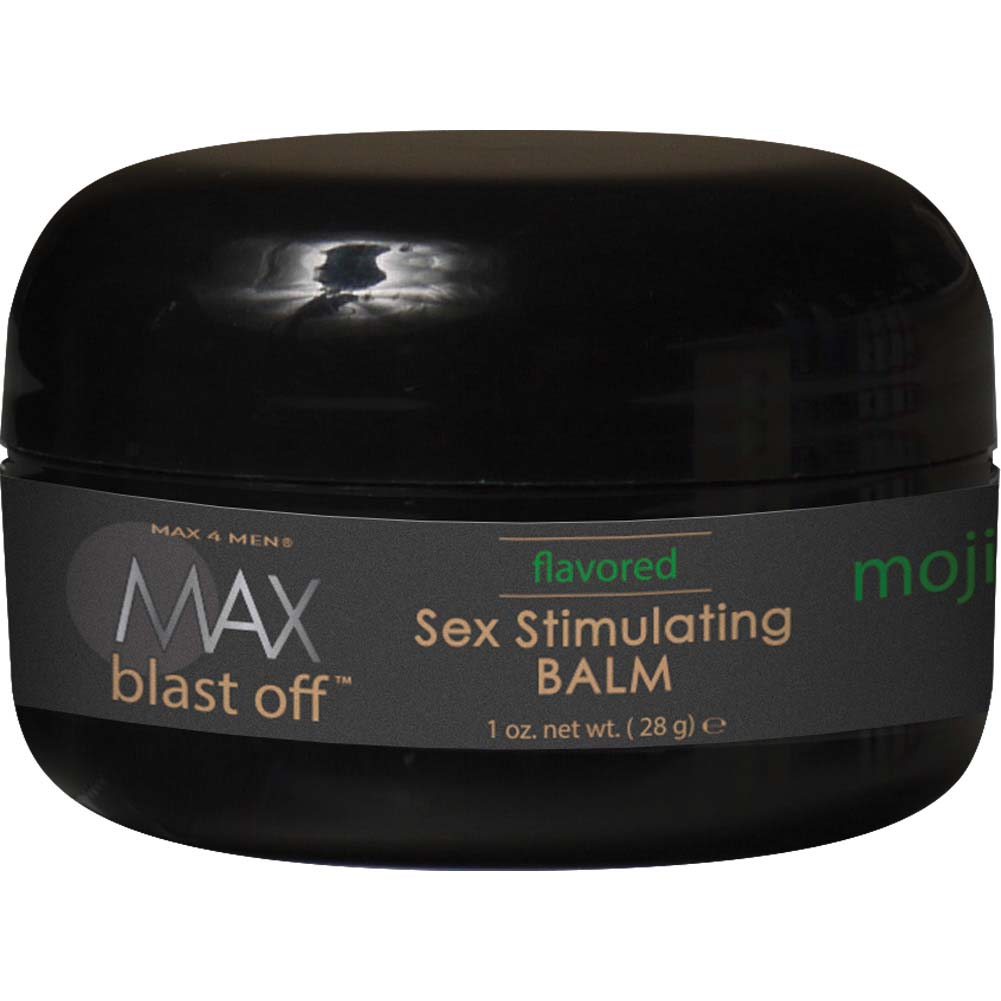 Max 4 Men Blast Off Sex Stimulating Balm - 1 Oz Mojito Mint Boxed - View #1