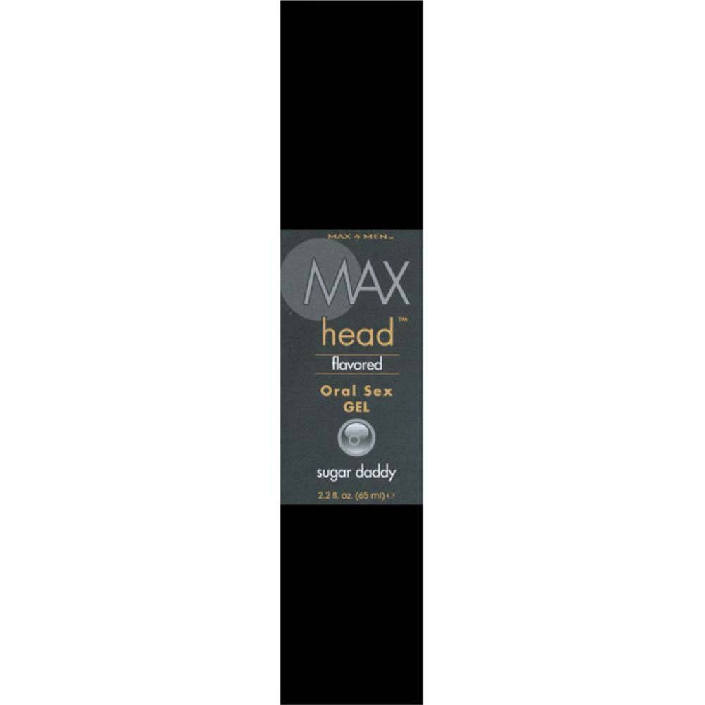Max 4 Men Max Head Flavored Oral Sex Gel Sugar Daddy 2.2 Fl.Oz 65 mL Boxed - View #3