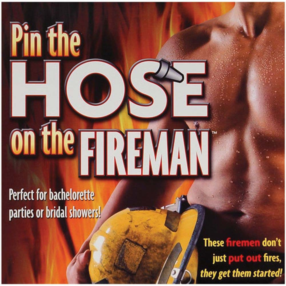 Pin the Hose On the Fireman Game - View #2