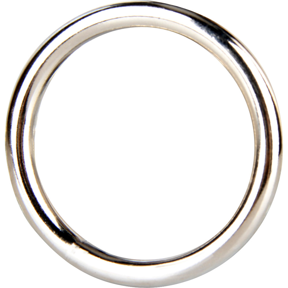 "Blue Line C and B Gear Steel Cock Ring 1.5"" Silver - View #1"