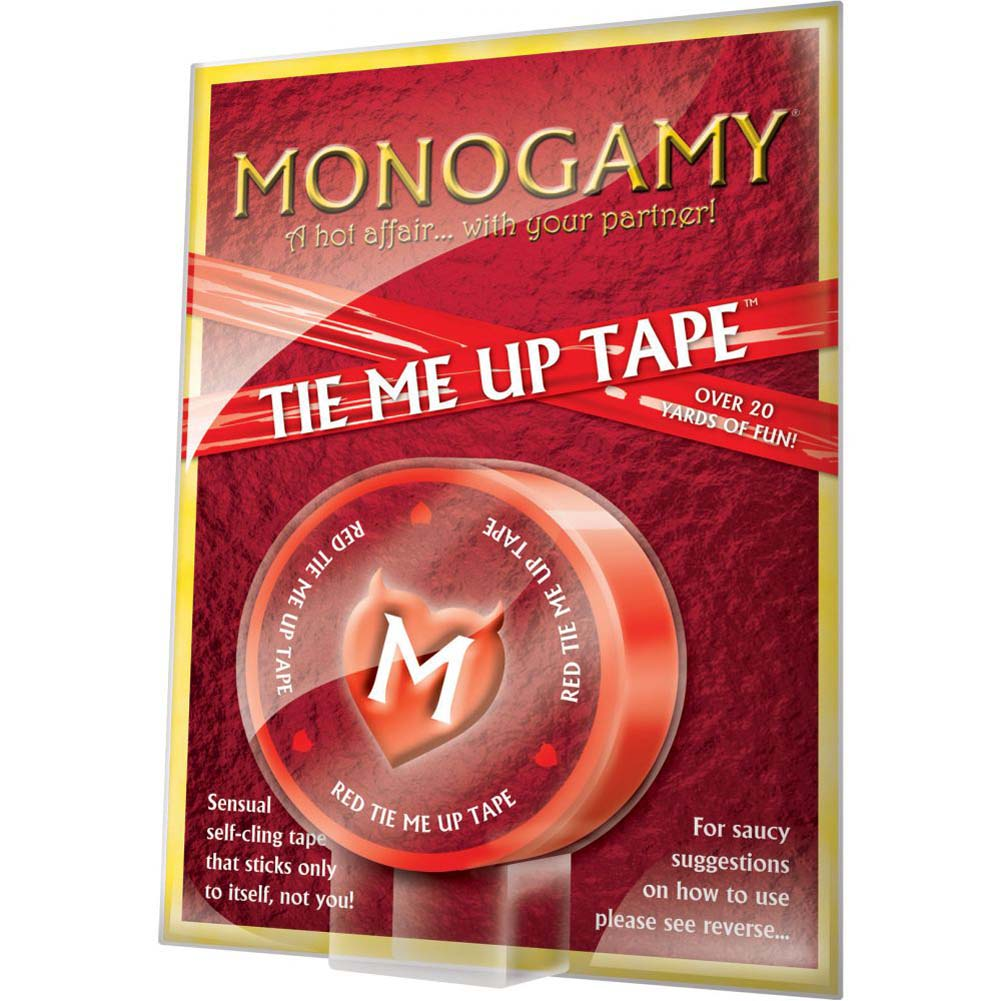 Monogamy Tie Me Up Tape 20 Yards Erotic Red - View #1