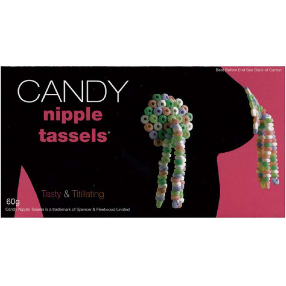 Edible Candy Nipple Tassels - View #2
