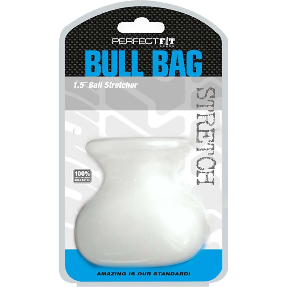 Perfect Fit Bull Bag 1.5 Ball Stretcher Clear - View #1