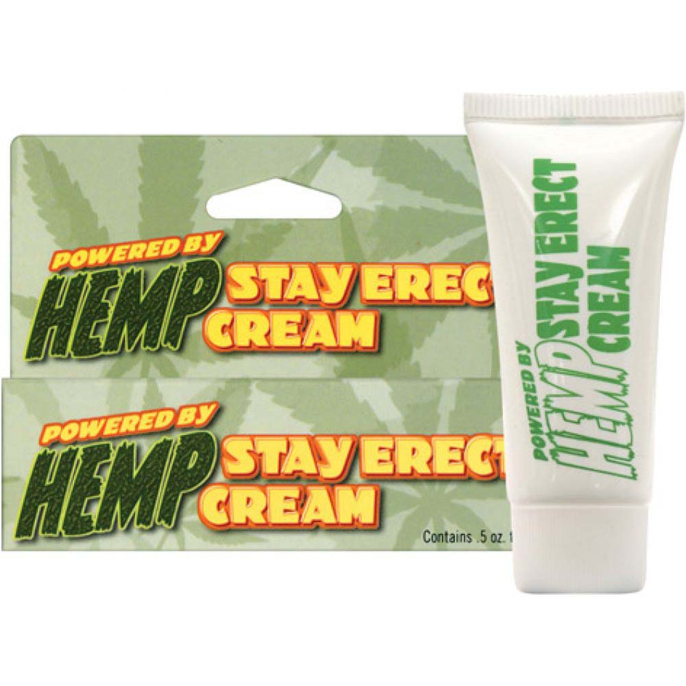 Hemp Stay Erect Cream 0.5 Oz - View #3