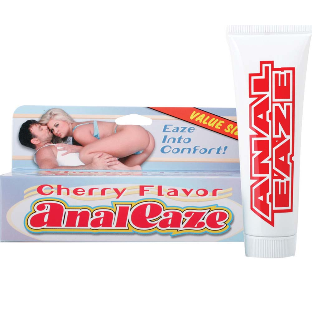 Anal Eaze Flavored Anal Relaxing Lubricant 4 Oz Cherry - View #1