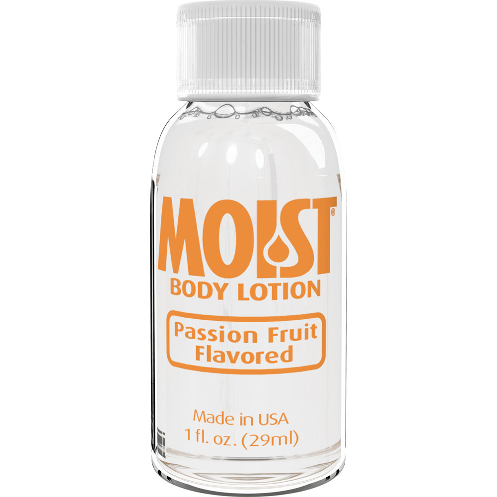 Moist Flavored Lube 1 Oz Passion Fruit - View #1