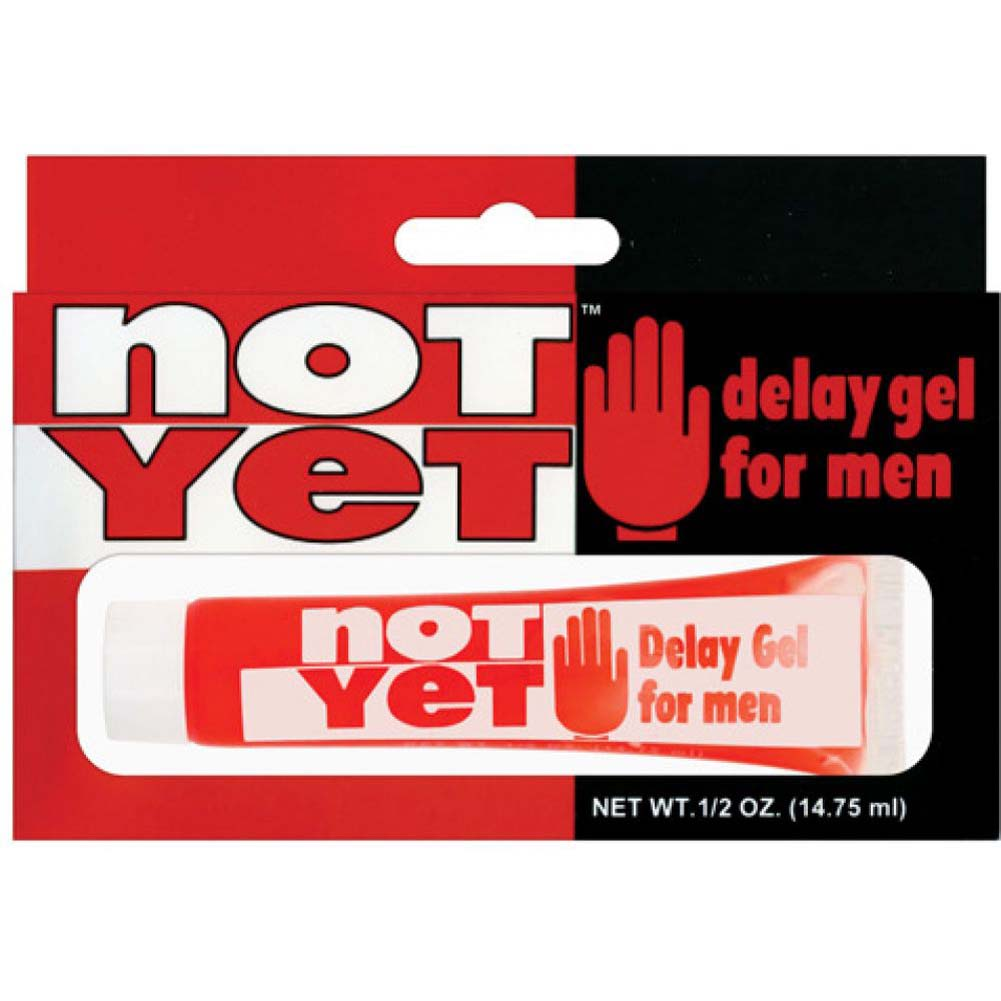 Doc Johnson Not Yet Delay Lubricant for Men 0.5 Fl.Oz 15 mL - View #1