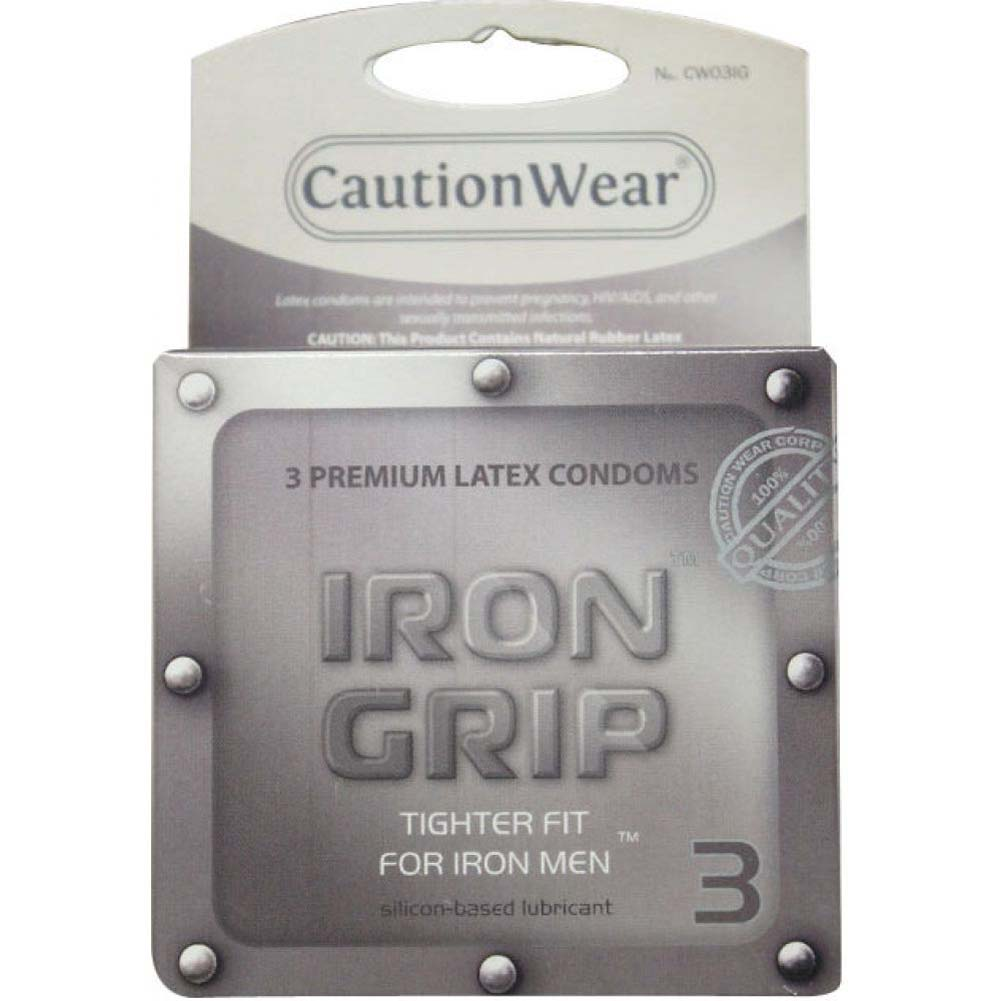 Caution Wear Iron Grip Snug Fit 3 Pack - View #2