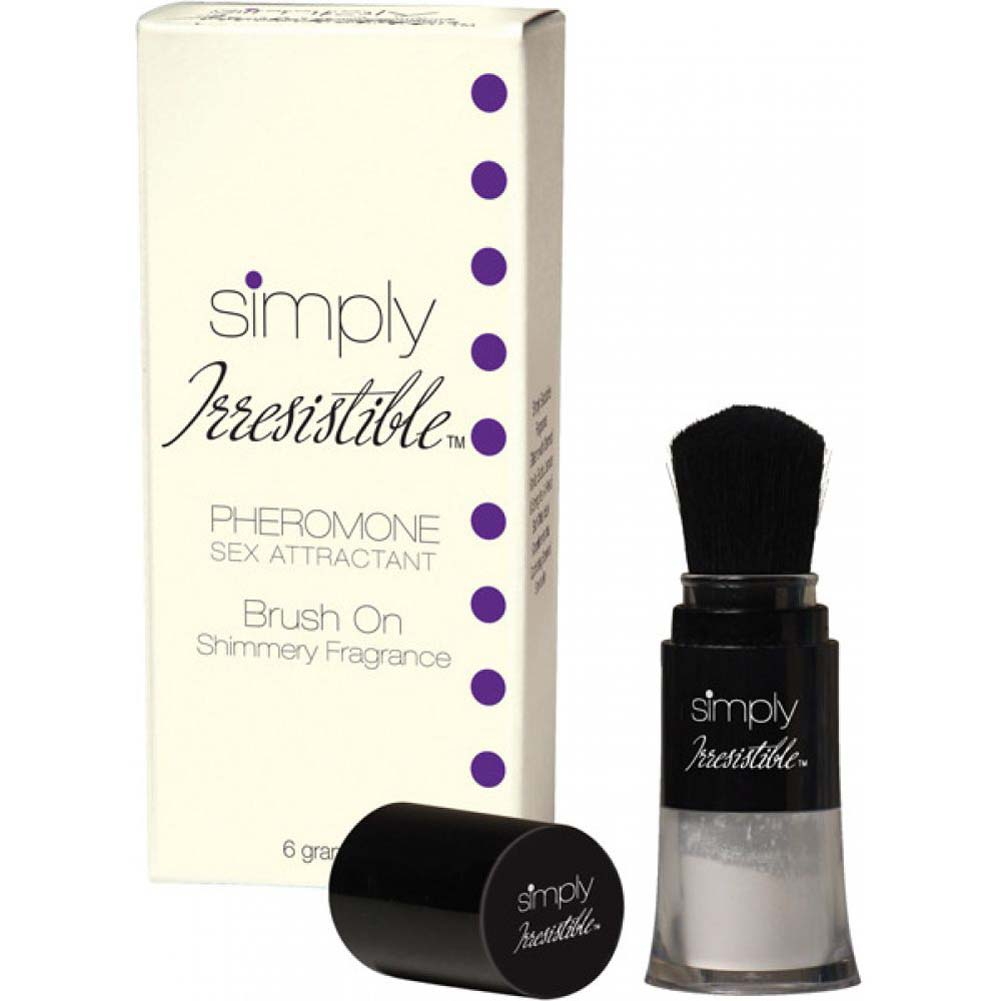 Simply Irresistible Pheromone Brush On Shimmer Fragrance 0.2 Oz 6 G - View #1