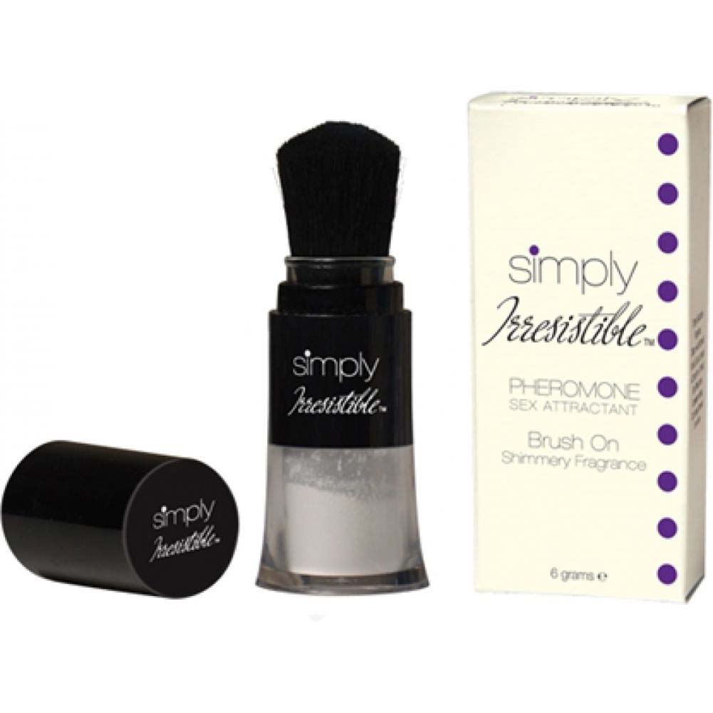 Simply Irresistible Pheromone Brush On Shimmer Fragrance 0.2 Oz 6 G - View #3