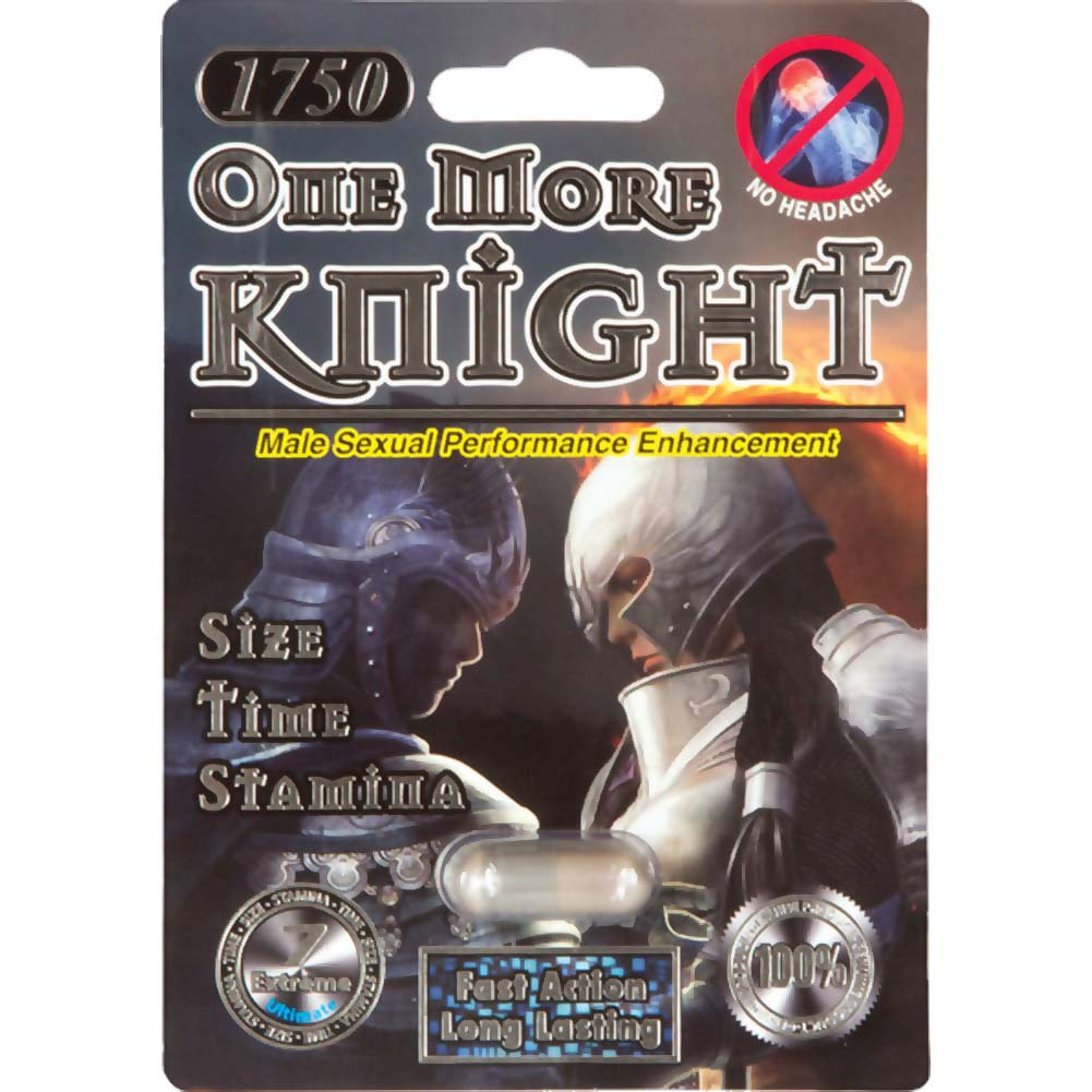 One More Knight Sexual Enhancer for Men 1 Capsule Blister - View #1