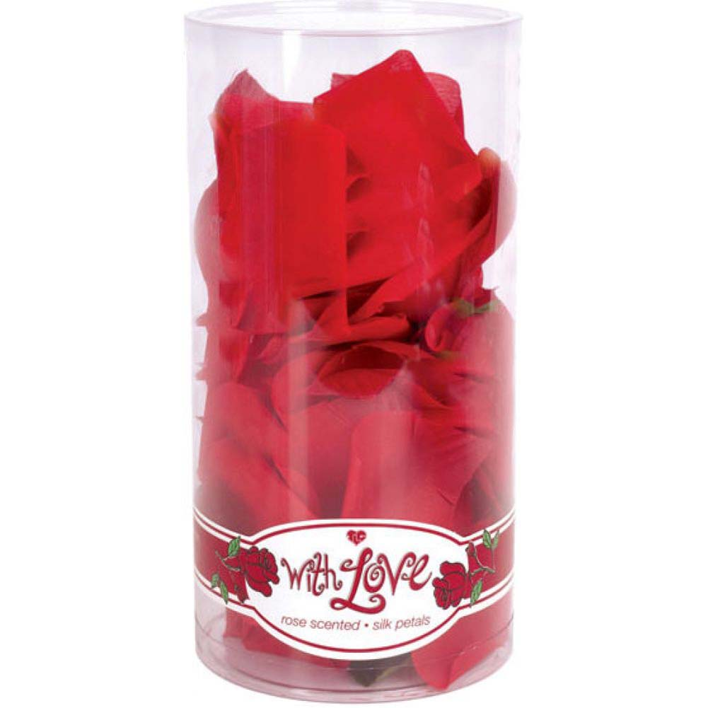 With Love Rose Scented Silk Petals - View #3
